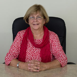 Carol Stevenson, Council Secretary Photo